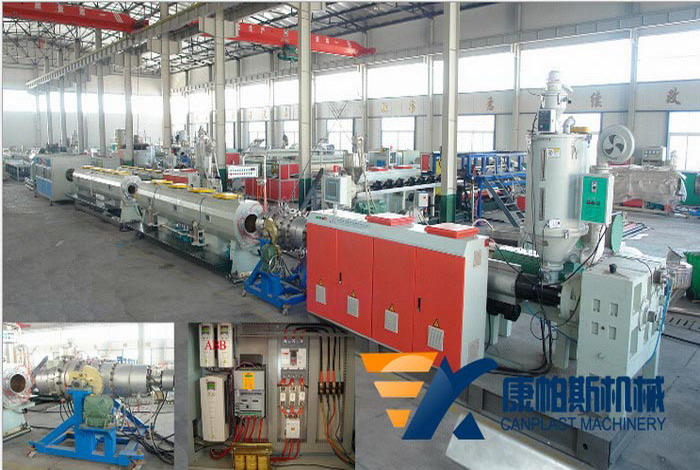 PE-PP Water Gas Supply Pipe Production Line