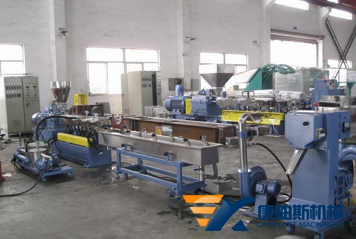 Plastic Strand Pelletizing Cold-cutting Production Line
